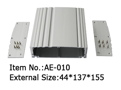 middle extruded enclosures