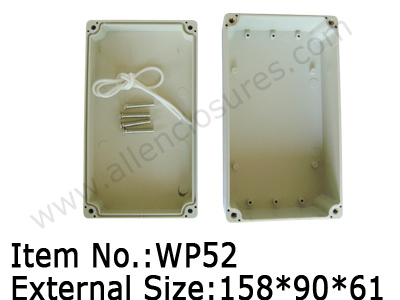 plastic waterproof enclosure sealed